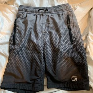 GapFit Boys Athletic Zipper Shorts